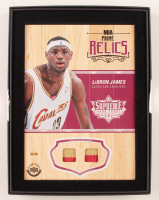 Lebron James 2016-17 Upper Deck Supreme Hardcourt NBA 5x7 Career Legacy Relics #PRLJ at PristineAuction.com