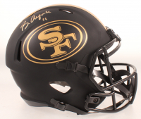 Brandon Aiyuk Signed 49ers Eclipse Alternate Full-Size Speed Helmet (Beckett COA) at PristineAuction.com