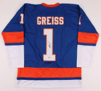 Thomas Greiss Signed Jersey (Beckett COA) at PristineAuction.com