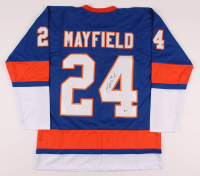 Scott Mayfield Signed Jersey (Beckett COA) at PristineAuction.com