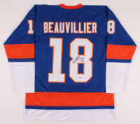 Anthony Beauvillier Signed Jersey (Beckett COA) at PristineAuction.com