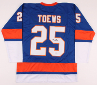 Devon Toews Signed Jersey (Beckett COA) at PristineAuction.com