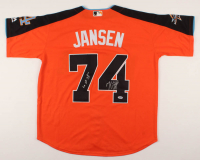 "Kenley Jansen Signed All-Star Game Jersey Inscribed ""1 IP 3 K's"" (PSA COA) at PristineAuction.com"
