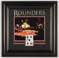 "Matt Damon Signed ""Rounders"" 18x18.5 Custom Framed Card Display (JSA COA) at PristineAuction.com"