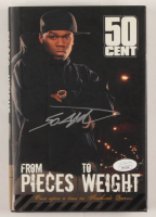 "Curtis ""50 Cent"" Jackson Signed ""From Pieces To Weight"" Hardcover Book (JSA COA) at PristineAuction.com"