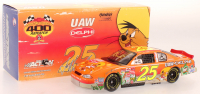 Joe Nemechek Signed LE #25 UAW Delphi / Looney Tunes Rematch 2002 Monte Carlo 1:24 Scale Stock Car (JSA COA) at PristineAuction.com