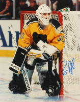 Bill Ranford Signed Bruins 11x14 Photo (Sports Cards SOA) at PristineAuction.com