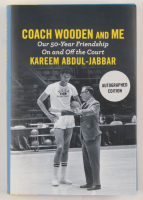 "Kareem Abdul-Jabbar Signed ""Coach Wooden And Me"" Hardcover Book (JSA COA) at PristineAuction.com"
