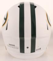 Brett Favre Signed Packers Full-Size Matte White Speed Helmet (Radtke Hologram & Schwartz COA) at PristineAuction.com