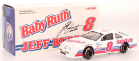 Jeff Burton Signed LE #8 Baby Ruth 1990 Thunderbird 1:24 Scale Stock Car (JSA COA) at PristineAuction.com
