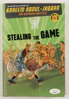 "Kareem Abdul-Jabbar Twice-Signed ""Stealing The Game"" Hardcover Book (JSA COA) at PristineAuction.com"