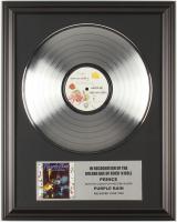 "Prince ""Purple Rain"" 16x20 Custom Framed Vinyl Record Album at PristineAuction.com"