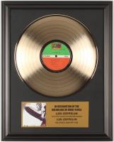 """Led Zeppelin """"Led Zeppelin"""" 16x20 Custom Framed Vinyl Record Album at PristineAuction.com"""