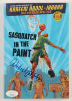 "Kareem Abdul-Jabbar Signed ""Sasquatch In The Paint"" Paperback Book (JSA COA) at PristineAuction.com"