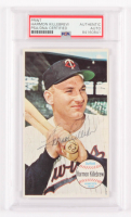 Harmon Killebrew Signed 1964 Topps Giants #38 (PSA Encapsulated) at PristineAuction.com