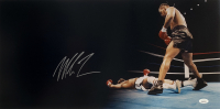 Mike Tyson Signed 12x24 Panoramic Photo (JSA COA) at PristineAuction.com