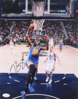 Kevin Durant Signed Warriors 11x14 Photo (JSA COA) at PristineAuction.com