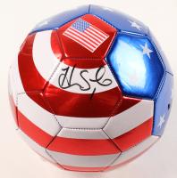 Hope Solo Signed Team USA Logo Soccer Ball (Beckett COA) at PristineAuction.com