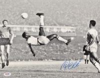 Pele Signed Team Brazil 11x14 Photo (PSA COA) at PristineAuction.com