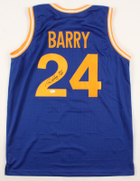 "Rick Barry Signed Jersey Inscribed ""HOF 1987"" (JSA COA) at PristineAuction.com"