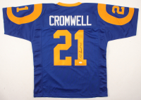 Nolan Cromwell Signed Jersey (JSA COA) at PristineAuction.com