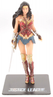 "Art FX Painted Wonder Woman Statue Action Figurine With ""Justice League"" Stand at PristineAuction.com"
