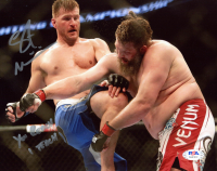 "Stipe Miocic Signed UFC 8x10 Photo Inscribed ""You Reach I Teach"" (PSA COA) at PristineAuction.com"