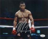 Mike Tyson Signed 8x10 Photo (JSA COA) at PristineAuction.com