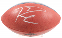 """Russell Wilson Signed """"2015 NFL Record-Breaking Season"""" """"The Duke"""" NFL Football (Wilson COA) at PristineAuction.com"""