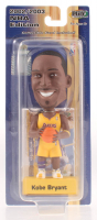 Kobe Bryant Upper Deck Bobblehead With 2002 Upper Deck Collectibles Playmakers #KB-2002 Basketball Card at PristineAuction.com
