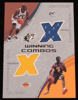 2002-03 SPx Winning Combos #MJKB Michael Jordan / Kobe Bryant at PristineAuction.com