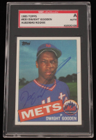 "Dwight ""Doc"" Gooden Signed 1985 Topps #620 RC (SGC Encapsulated) at PristineAuction.com"