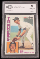 Don Mattingly 1984 Topps #8 RC (BCCG 9) at PristineAuction.com