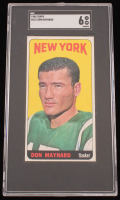 Don Maynard 1965 Topps #121 (SGC 6) at PristineAuction.com