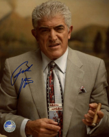 "Frank Vincent Signed ""The Sopranos"" 8x10 Photo (Pro Player Hologram) at PristineAuction.com"