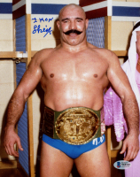 The Iron Sheik Signed WWE 8x10 Photo (Beckett COA) at PristineAuction.com
