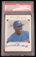 Vladimir Guerrero 1998 SP Authentic Chirography #VG (PSA 9) at PristineAuction.com