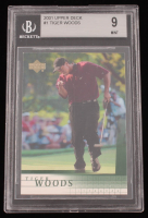 Tiger Woods 2001 Upper Deck #1 RC (BGS 9) at PristineAuction.com