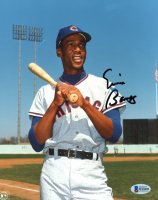Ernie Banks Signed Cubs 8x10 Photo (Beckett COA) at PristineAuction.com