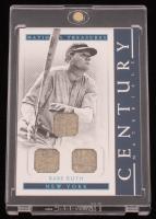 Babe Ruth 2018 Panini National Treasures Century Materials Trios Platinum #20 at PristineAuction.com