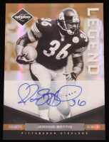 Jerome Bettis 2011 Limited Monikers Autographs Gold #125 at PristineAuction.com