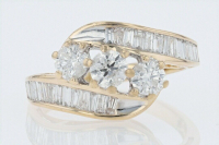 1.60ct Diamond Engagement Ring 14kt Gold (GAL Certified) at PristineAuction.com