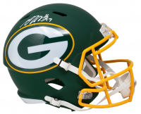 Davante Adams Signed Packers AMP Alternate Speed Full Size Helmet (JSA COA) at PristineAuction.com