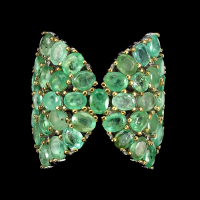 5.00ct Emerald Butterfly Ring (GAL Certified) at PristineAuction.com