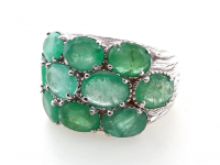 10.00ct Emerald Ring (GAL Certified) at PristineAuction.com