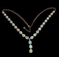21.00ct Opal Necklace (GAL Certified) at PristineAuction.com