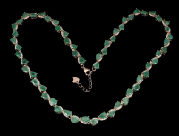 20.00ct Emerald Necklace (GAL Certified) at PristineAuction.com