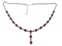 15.00ct Ruby Necklace (GAL Certified) at PristineAuction.com