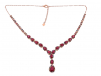 14.50ct Ruby Necklace (GAL Certified) at PristineAuction.com
