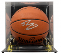 Shaquille O'Neal Signed NBA Game Ball Series Basketball With Display Case (Beckett COA) at PristineAuction.com